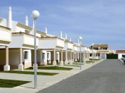 Traditional Algarvian town houses