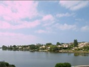 Overlooking the lake in Quinta do Lago