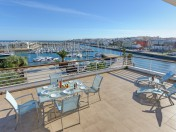 Stunning views over the award winning Lagos Marina
